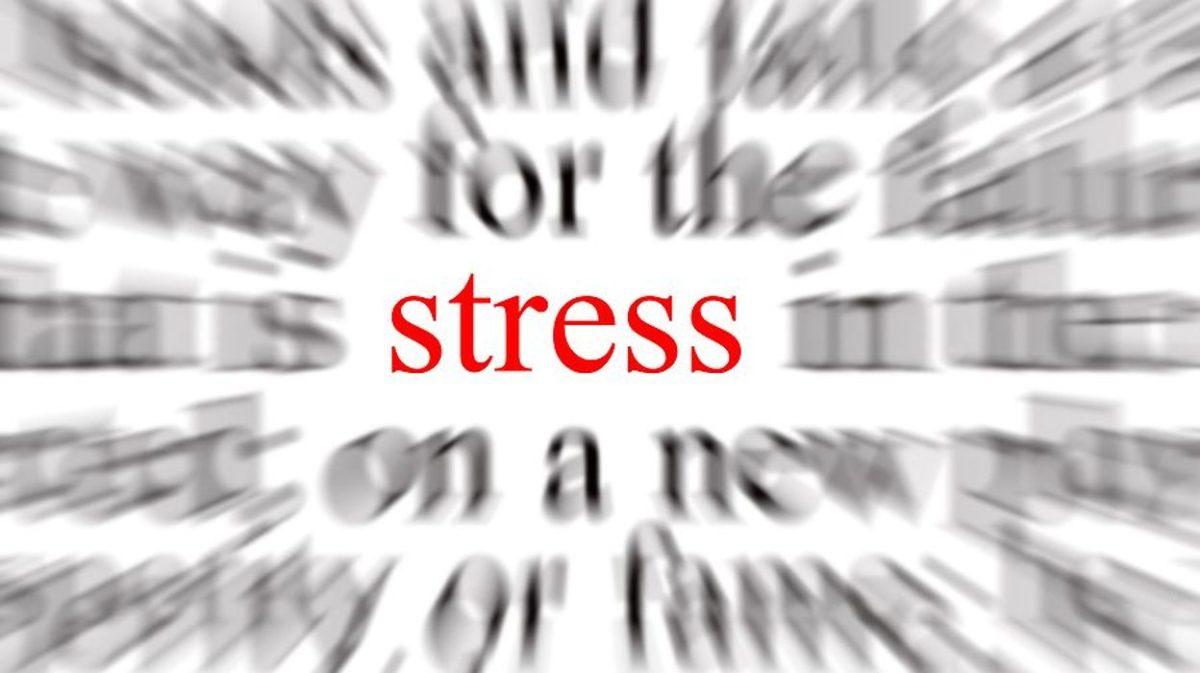 Stress in a Sentence